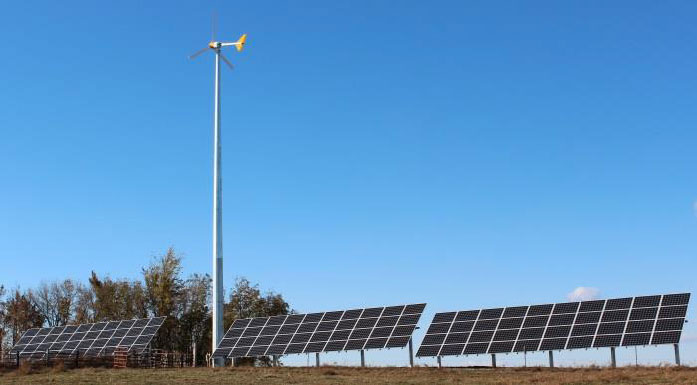 Ribbon Cutting to recognize renewable energy project